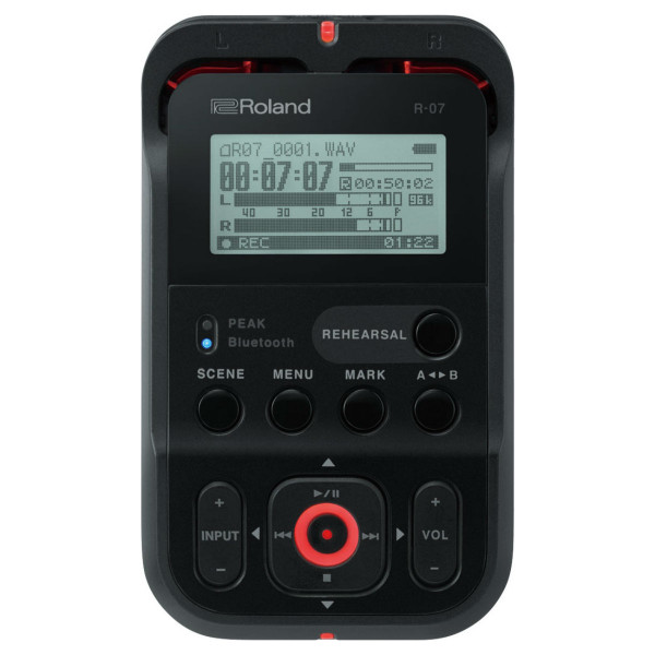 Roland R-07 Portable Audio Recorder