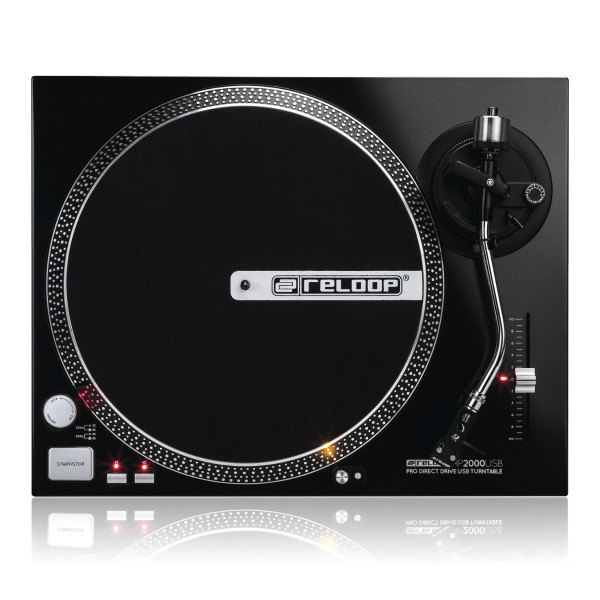 RELOOP RP-2000 USB Direct Drive Turntable