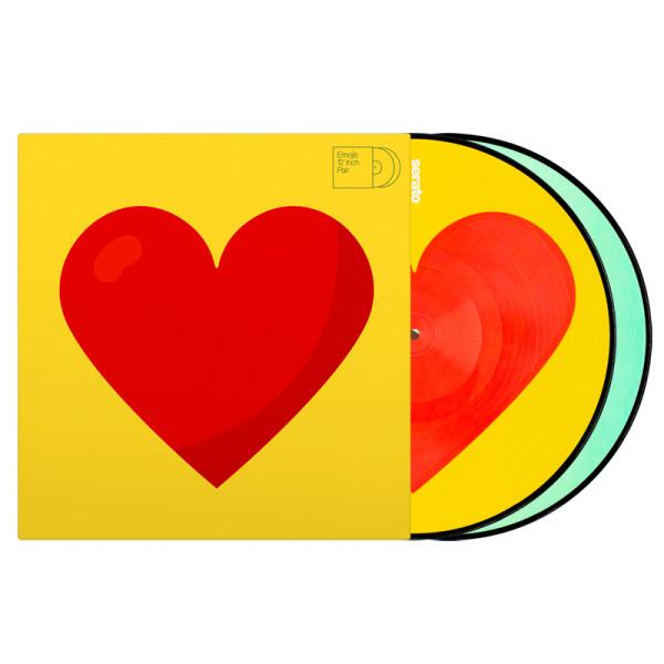 Serato Emoji Series 3 Donut/Heart - Pair
