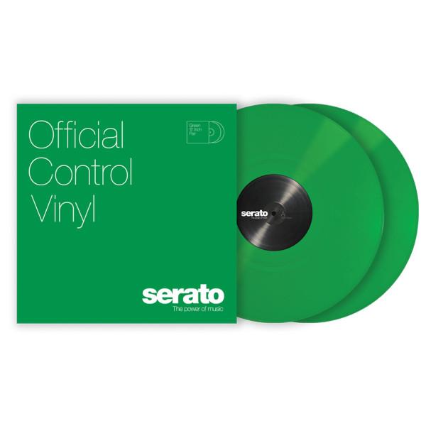SERATO Performance Series Vinyl Pair - Green