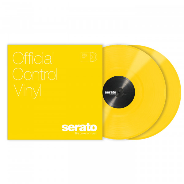 Serato Performance Series Vinyl Yellow Pair