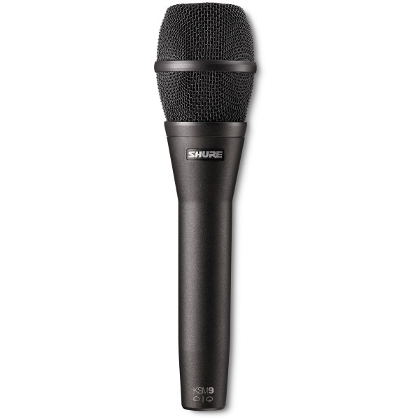 SHURE KSM9C Condensor Vocal Supercardioid Mic - Charcoal Grey