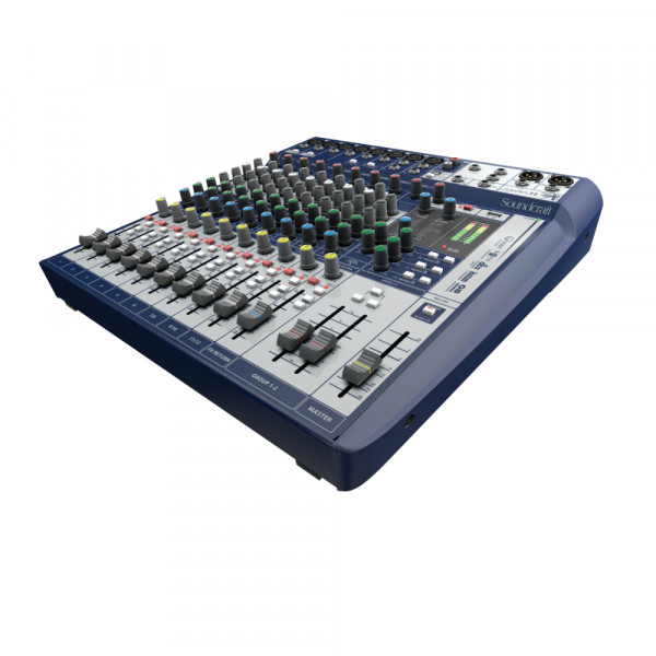 SOUNDCRAFT SIGNATURE 12 Analogue Mixer with USB Stereo In/Out
