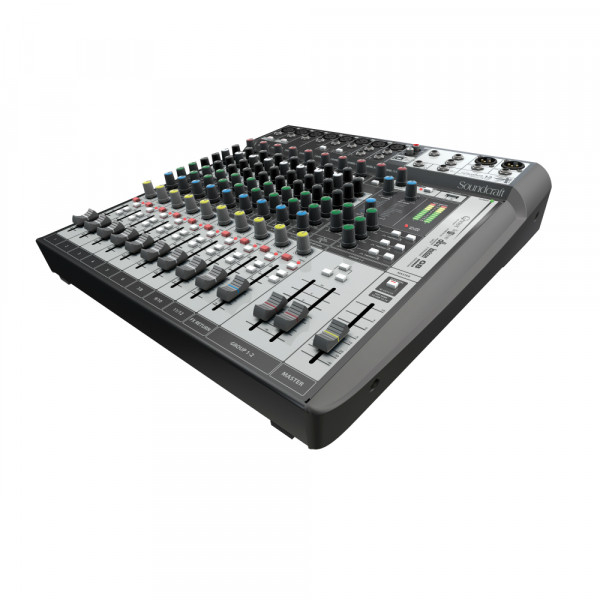 SOUNDCRAFT SIGNATURE 12 MTK Analogue Mixer with Multi Track USB Interface