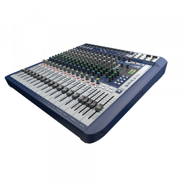 SOUNDCRAFT SIGNATURE 16 Analogue Mixer with USB Stereo In/Out