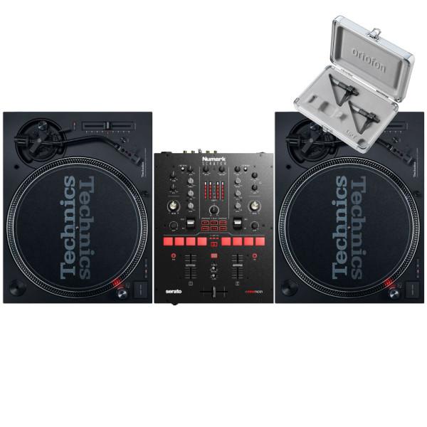 Technics SL 1210 MK7 Pair + Numark Scratch with Cartridges