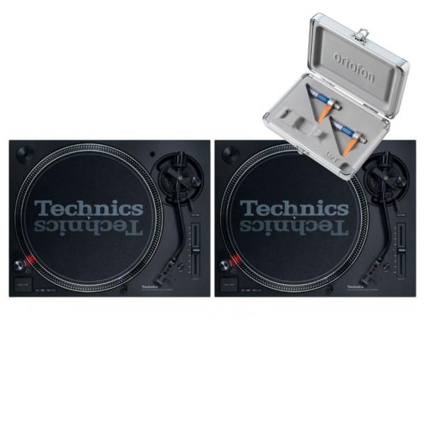 Technics SL 1210 MK7 Pair + Concorde DJ MK2 Twin Pack