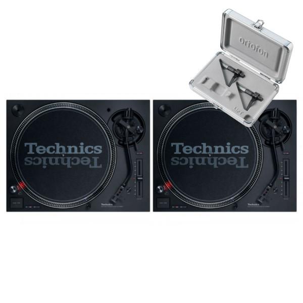 Technics SL 1210 MK7 Pair + Concorde Mix MK2 Twin Pack