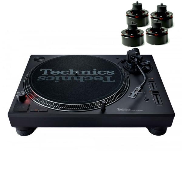 Technics SL 1210 MK7 & Isonoe Isolator Feet Set of 4 (Black)