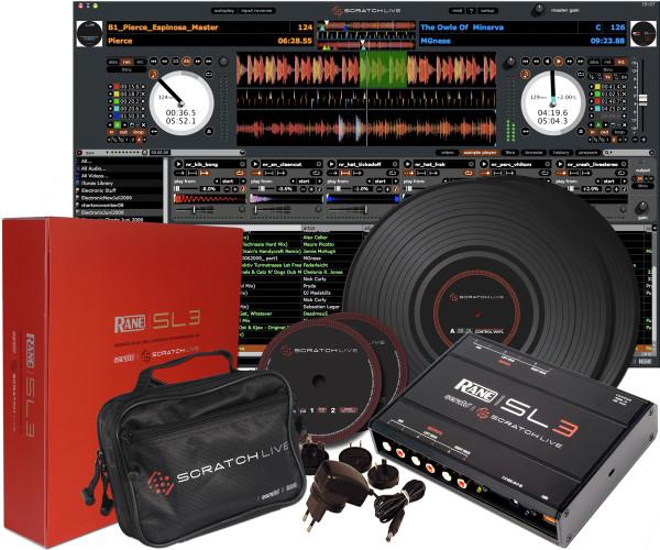 Rane Serato SL3 Digital Vinyl System
