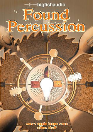 BIG FISH AUDIO Found Percussion Sample DVD