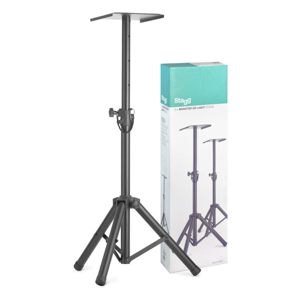 Stagg SMOS-20 SET Floorstanding Monitor Stands (Pair)