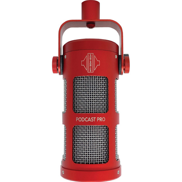Sontronics Podcast Pro Microphone Red