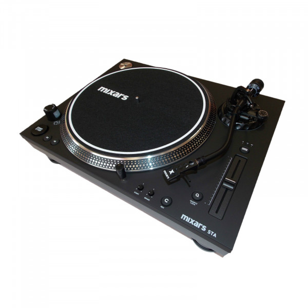 MIXARS STA Direct-Drive Turntable With S-Shaped Arm