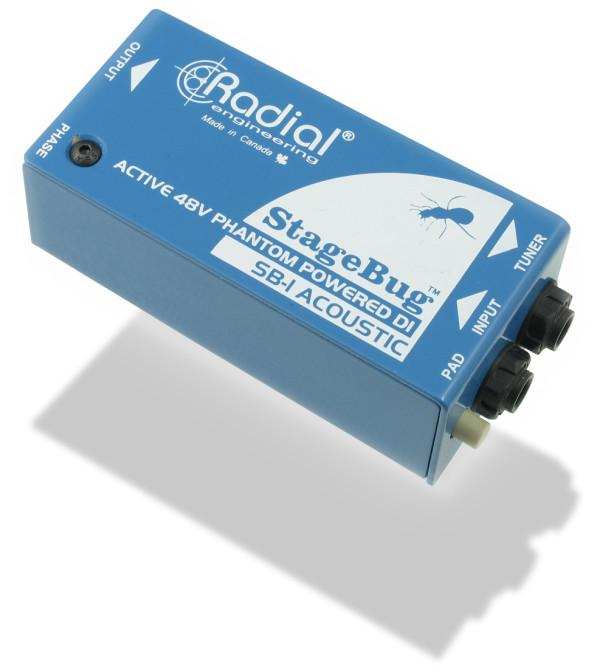 RADIAL StageBug SB-1 Active Acoustic DI Box
