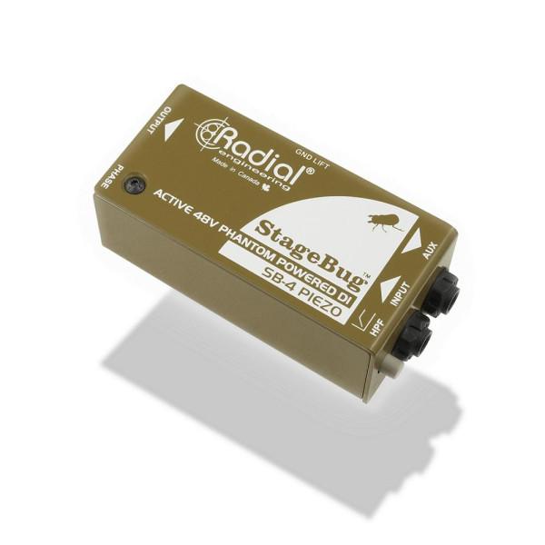 RADIAL StageBug SB-4 Piezo DI Box