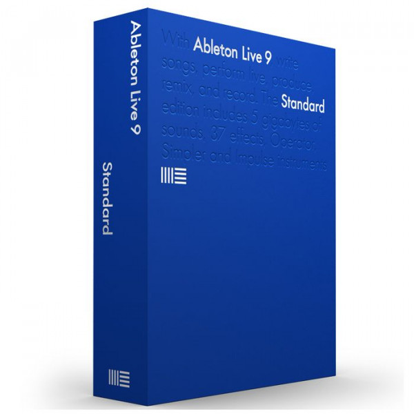 ABLETON LIVE 9 Standard - UPGRADE from Intro
