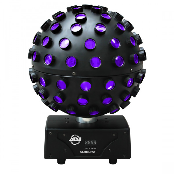 American DJ STARBURST Six  Colour Sphere LED Effect (RGBAW+UV)