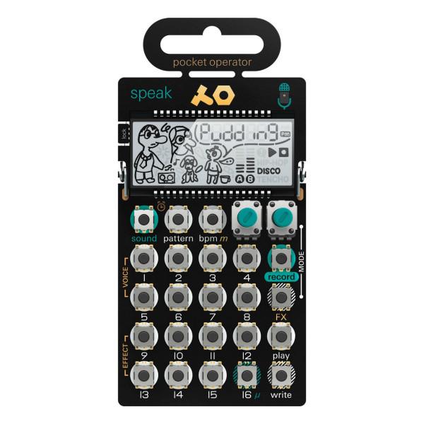 Teenage Engineering PO-35 Speak Pocket Operator Synthesizer Sequencer