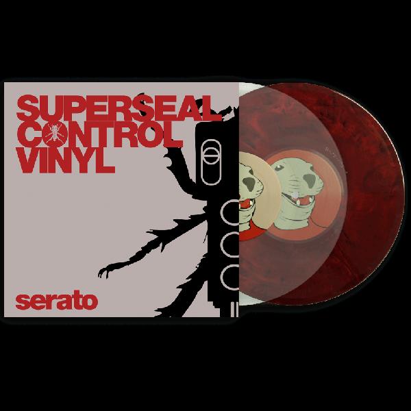 "Serato Thud Rumble x Serato Superseal 10"" (Pair)"