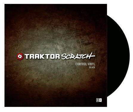 NATIVE INSTRUMENTS Traktor Scratch Vinyl - Black