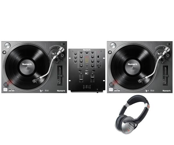 NUMARK TT250usb turntable and M2 mixer bundle