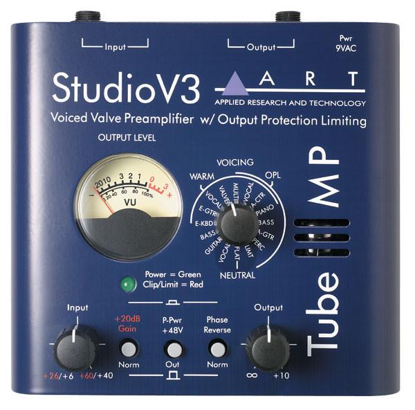 ART Tube MP Studio V3 Single Mic Preamp