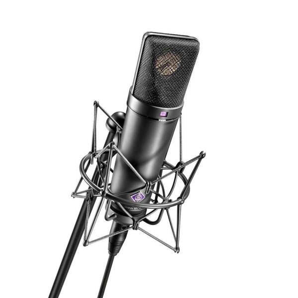 NEUMANN U87 Ai MT Studio Set (Inc. EA87 Shockmount) - Black