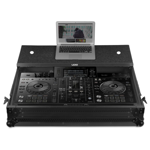 UDG Ultimate XDJ-RX2 Flight Case MK3 Plus (Laptop Shelf + Wheels)