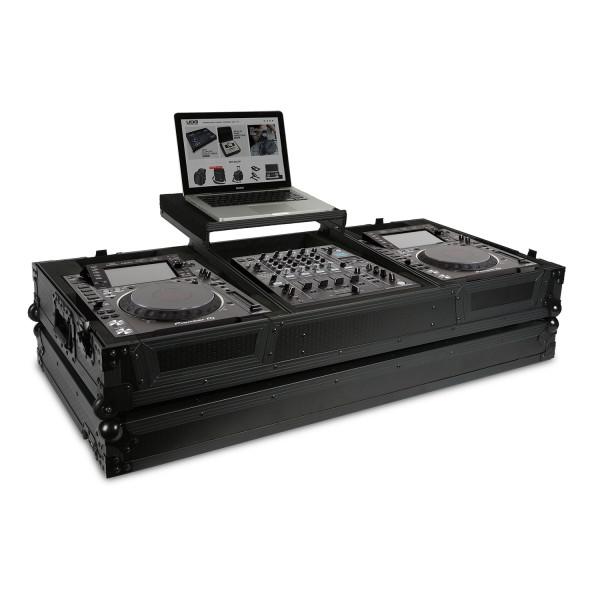 UDG Ultimate Flight Case Pioneer CDJ-2000/ 900NXS2 (Laptop Shelf + Wheels)