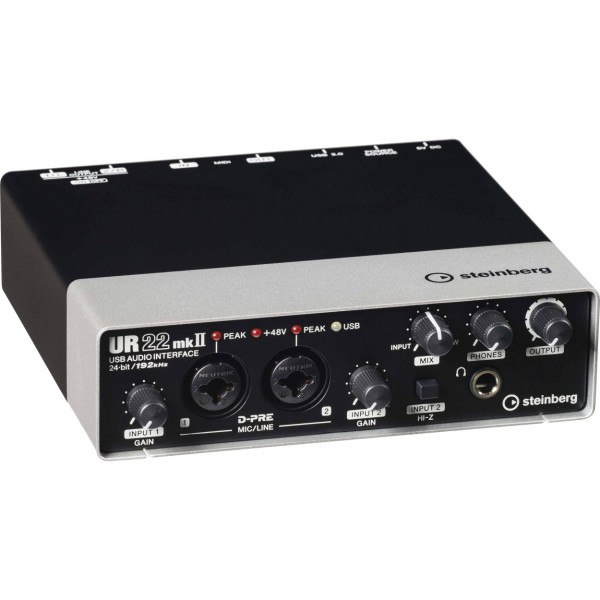 Steinberg UR22mkII USB MIDI Audio Interface