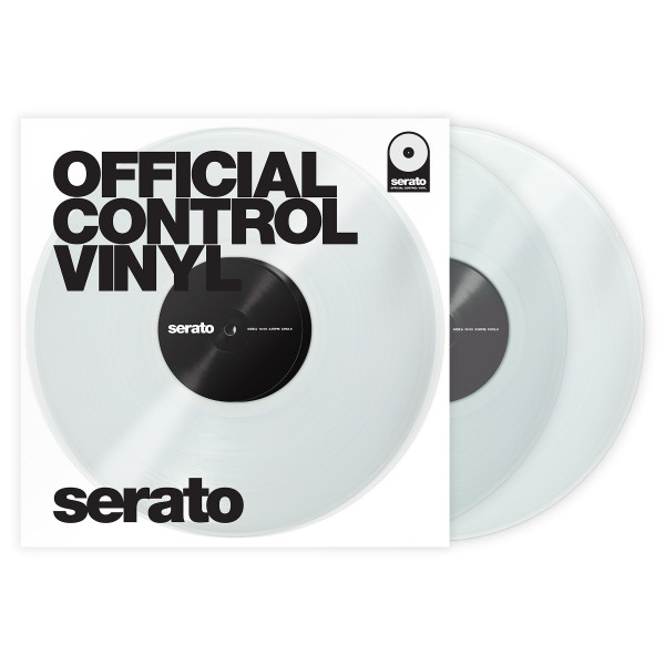 SERATO Performance Series Vinyl Pair - Clear