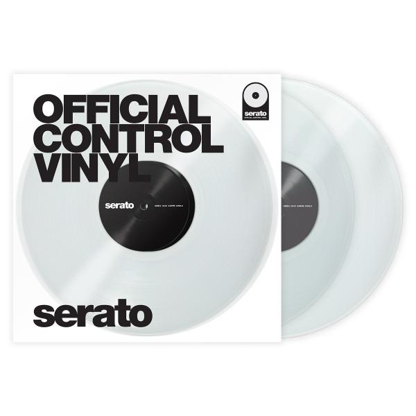 SERATO Performance Series Vinyl Pair - Clear