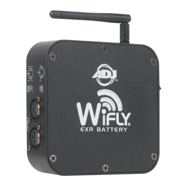 American DJ WiFly EXR BATTERY Battery Powered Wireless DMX Transceiver