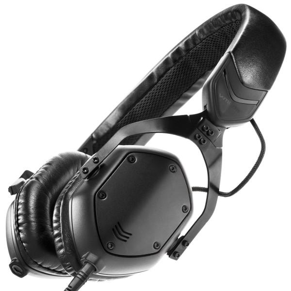V-Moda XS On Ear Headphones (Matte Black Metal)