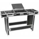 """CITRONIC UNIVERSAL COFFIN CASE FOR 19"""" 8U MIXER AND 2 CD PLAYERS"""