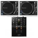 Pioneer DJ 2 x PLX1000 + DJM-250MK2 Bundle
