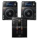 Pioneer DJ XDJ1000MK2 + DJM-250MK2 Bundle