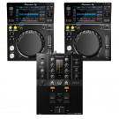 Pioneer DJ 2 XDJ700 + DJM-250MK2 Bundle