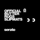 Serato Official Butter Rug Slipmats - Black (Pair)