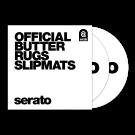Serato Official Butter Rug Slipmats - White (Pair)