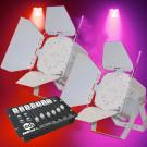 LEDJ Omni Tri 9 LED Parcan Package (LEDJ-153-PACK)