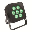 LEDJ Slimline 7Q5 RGBW LED PAR in Black ( LEDJ59 )