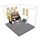 Primacoustic London 8 Acoustic Room Treatment Kit - Beige