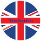 DMC Technics Union Jack Flag Slipmats MFL Pair