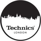 DMC Technics London Skyline Slipmats MLOND Pair