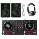 Numark Mixtrack Pro FX DJ Bundle With CR5-X + Headphones