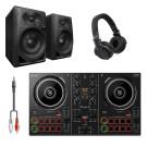 Pioneer DJ DDJ-200 Bundle with HDJ-CUE1 Headphones & Monitors