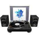 Pioneer DJ 1 x PLX500 + DM40 Bundle