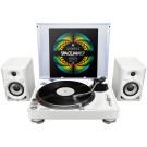 Pioneer DJ 1 x PLX500W + DM40W Bundle